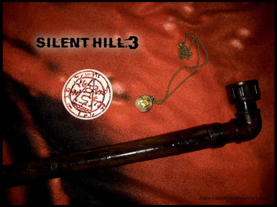 Silent Hill 3 Items by Kiara-Valentine