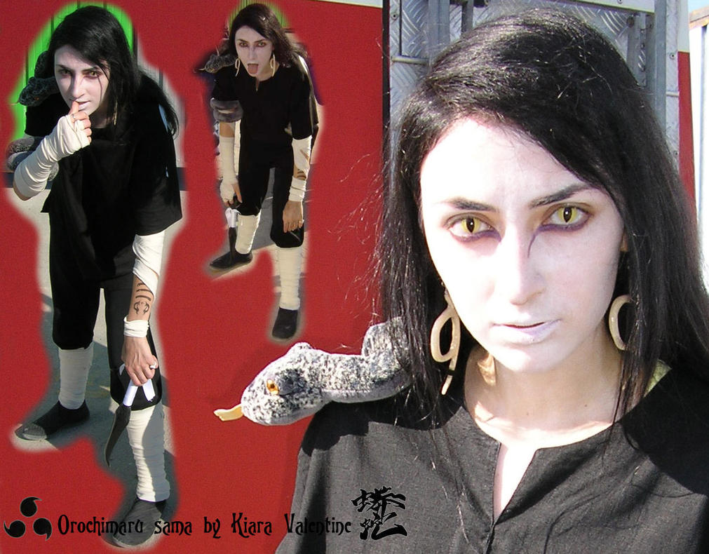 Orochimaru sama - sick version by Kiara-Valentine