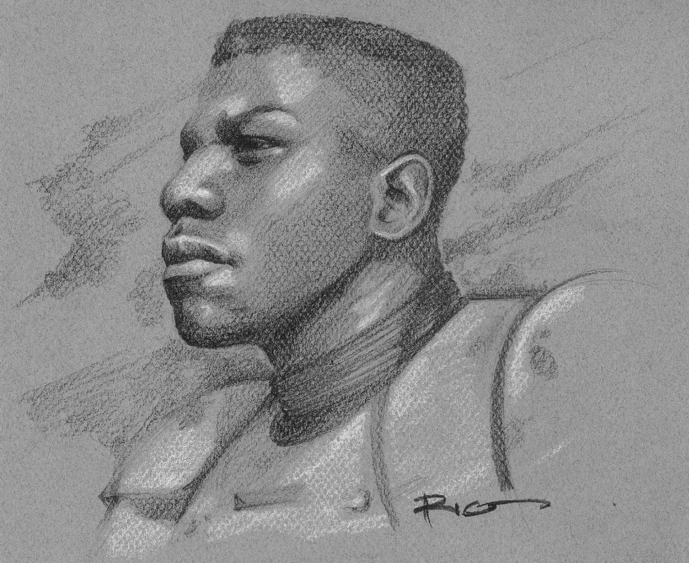 Finn as a Trooper by RicoSilva
