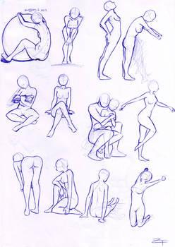 study: poses 4