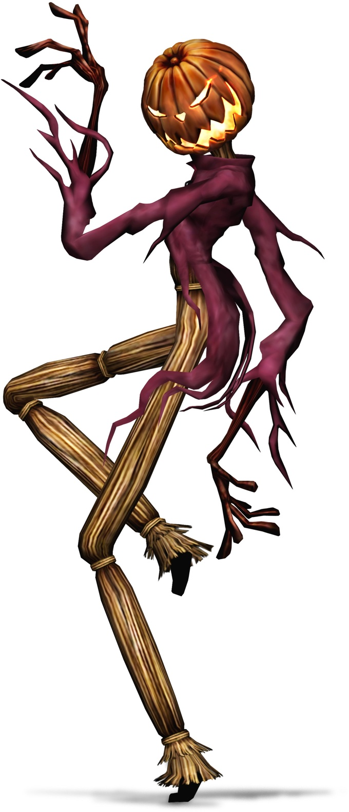Jack Skellington in his 'Pumpkin King' form by bloatenator ...
