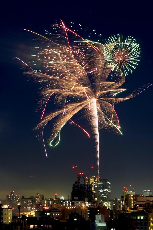 Japan Fireworks - Pokamono by kucingitem
