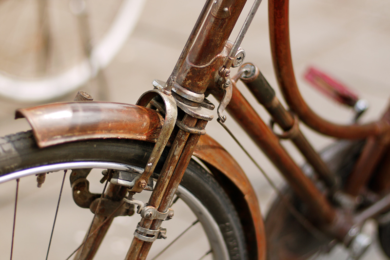 Rusty Bicycle by kucingitem