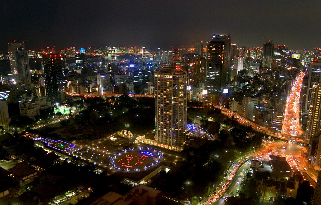 Tokyo - at Night by kucingitem