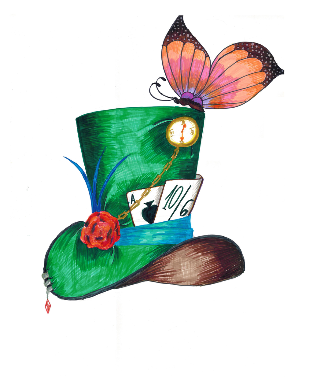 Mad Hatter's Hat by daniel---95 on DeviantArt