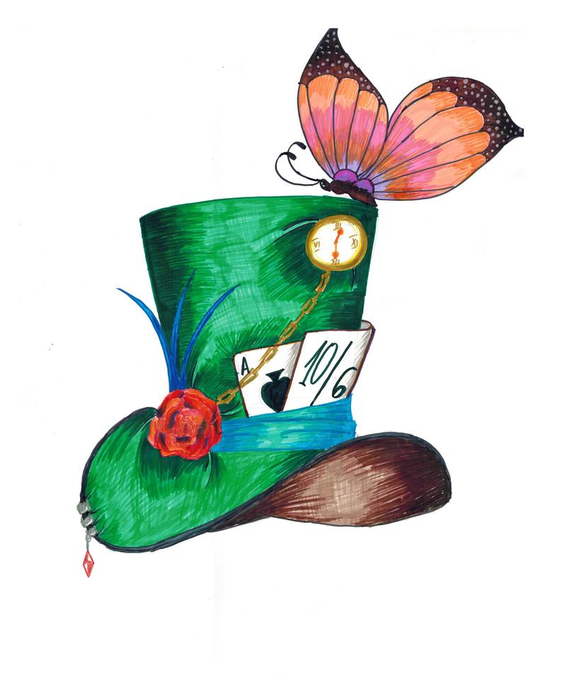 Mad Hatter's Hat by daniel---95 on DeviantArt