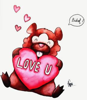 Bidoof wants some love