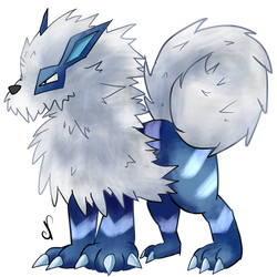 Ice type Arcanine
