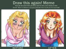 Draw this again-meme by Imaranx