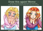 Draw this again-meme