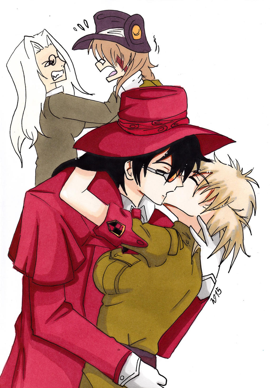hellsing alucard and seras relationship questions
