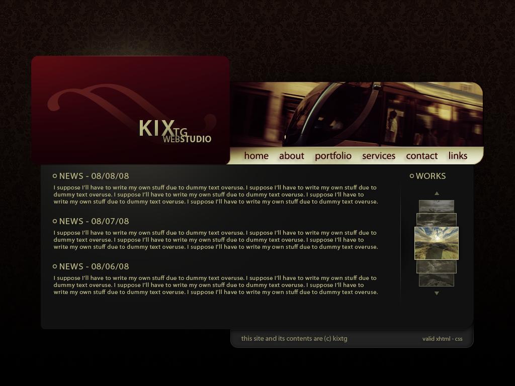 kixtg web studio by kixtg