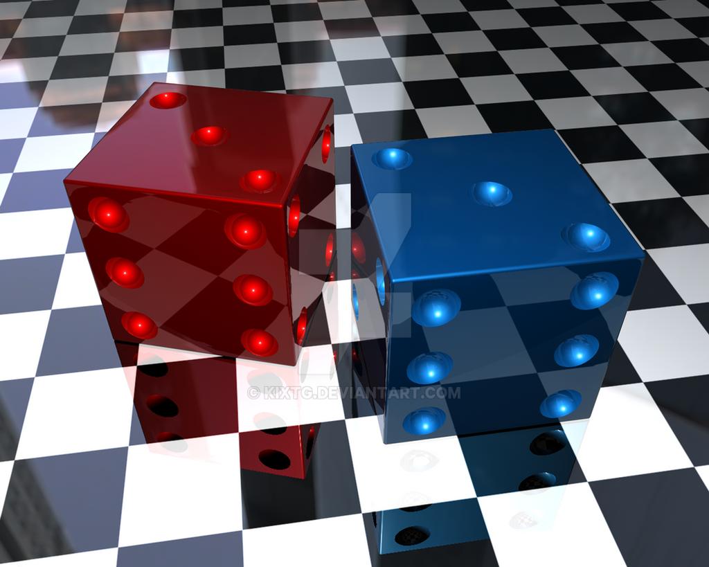 3D Dice by kixtg