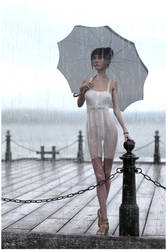 just rain... by Andrey-A-M