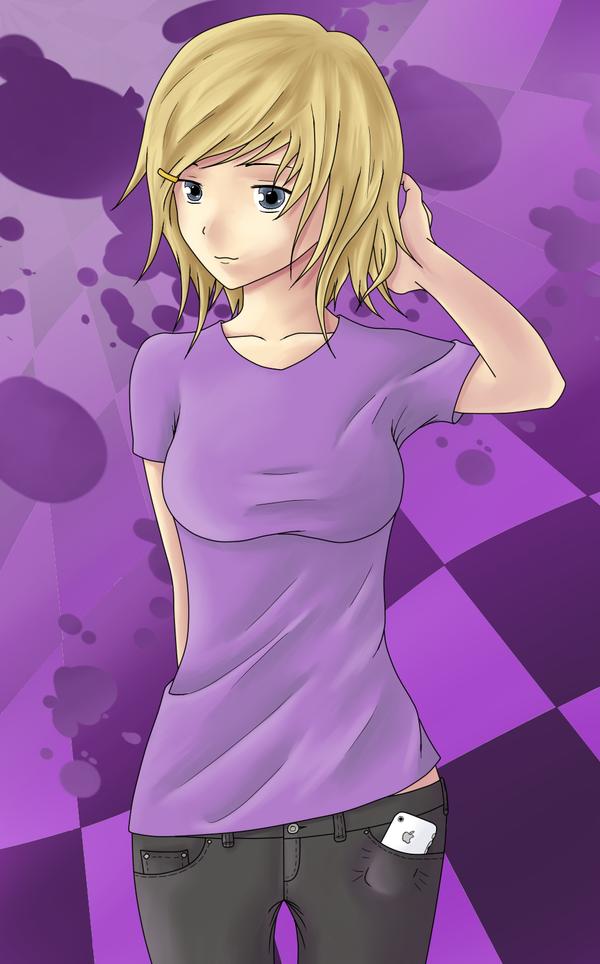 Blond Girl by birdman-714