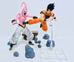 Ultimate Gohan vs Super Buu