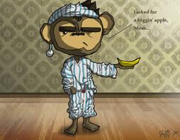 Monkey Morning by ShiftyJ
