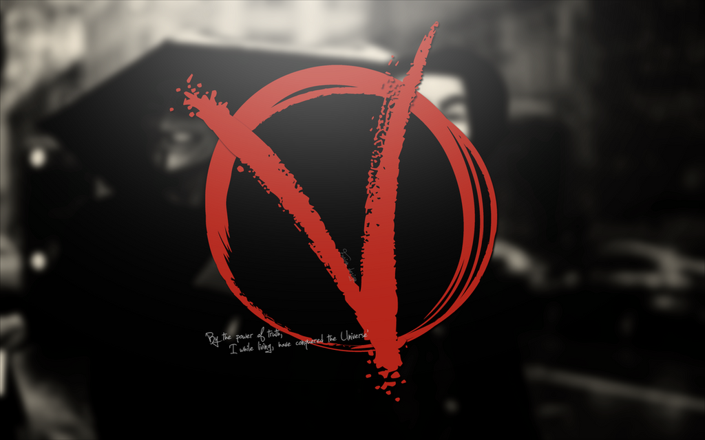 V For Vendetta Wallpaper By Cro2009man