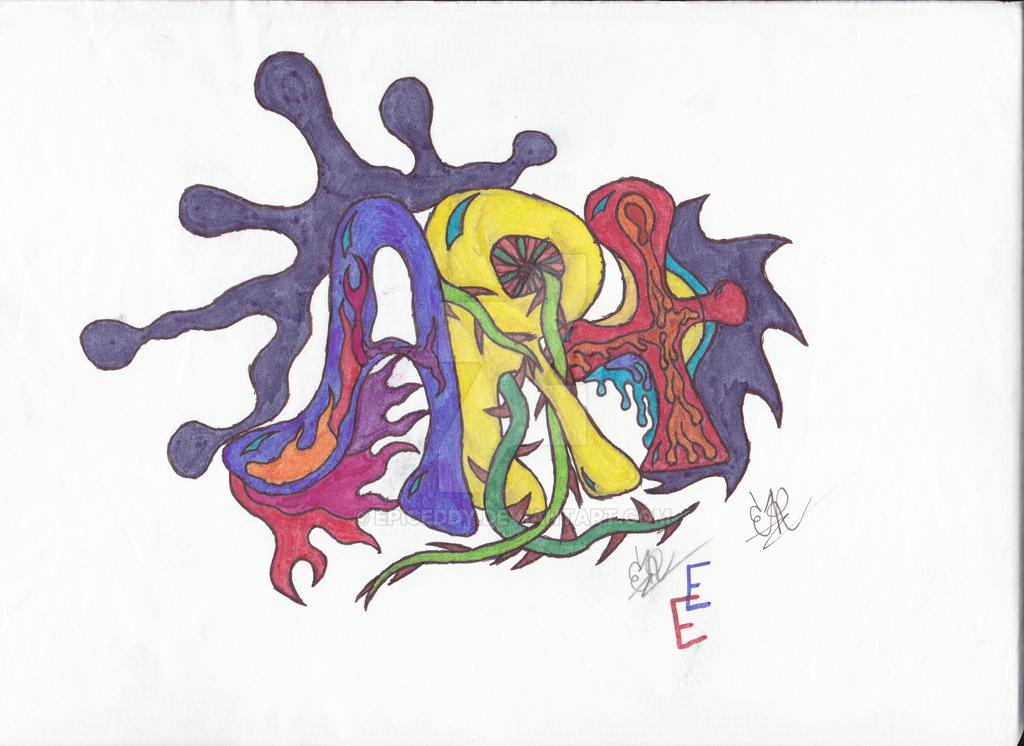 Lettering Art by EpicEddy