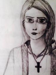 Priestess by UpsideDownEntity