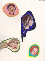 Floating Heads by UpsideDownEntity