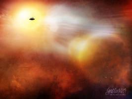 Space Scene XVII by cyrus-crashtest