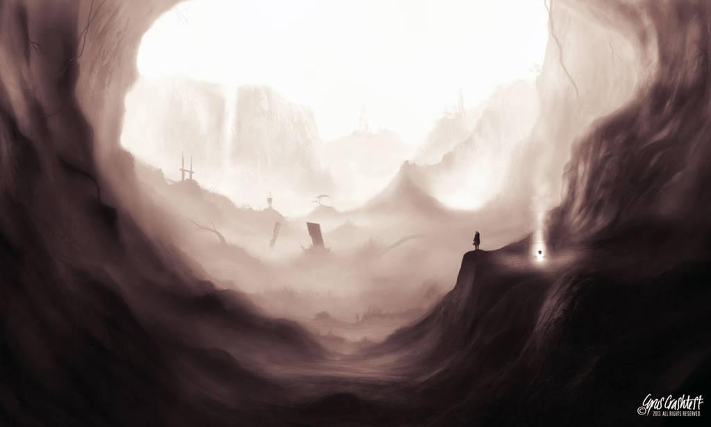 Unfinished SciFi Scene by cyrus-crashtest