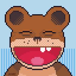 Weird, Joy-Filled Bear