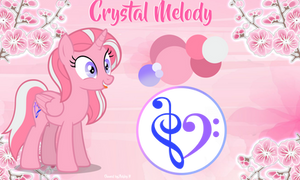 AshleyH (Crystal Melody) Official Reference by AshleyHDoritoQueen