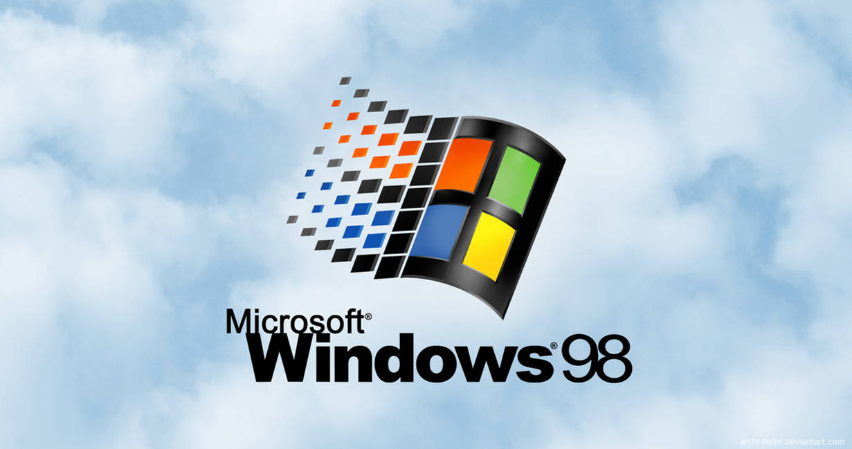 Windows 98 Remastered Startup Screen- 4K Wallpaper by Archi-Techi ...