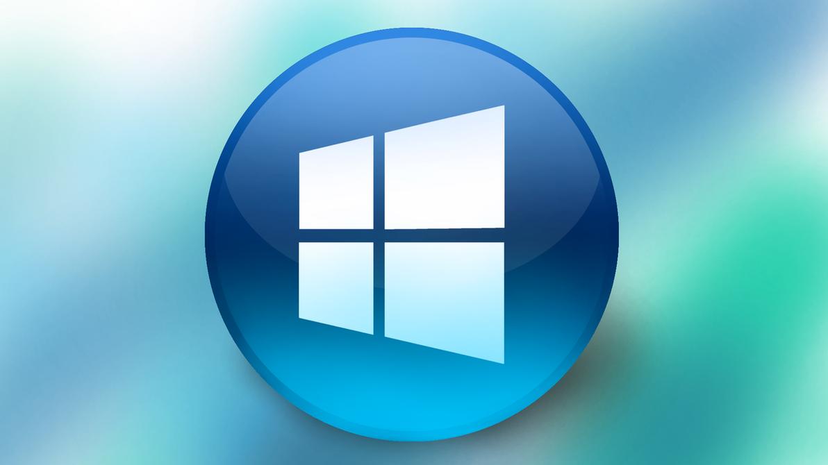 Windows Round Logo Black Windows 8 Logo Wallpaper Cara