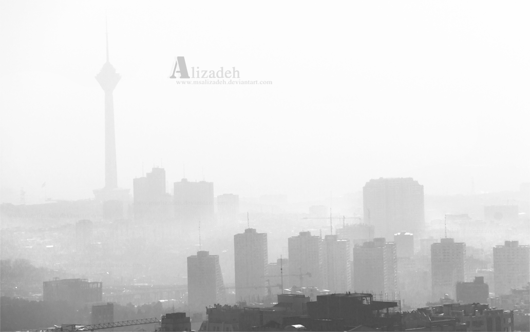 Polluted city by msalizadeh