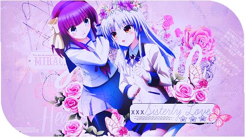 Sisterly Love - Yuri and Kanade by Cutie-Miyu