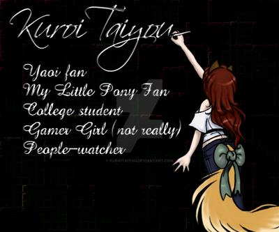 KuroiTaiyou's Profile Picture