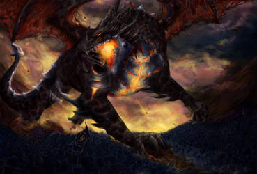 Deathwing the Destroyer by Houndourka