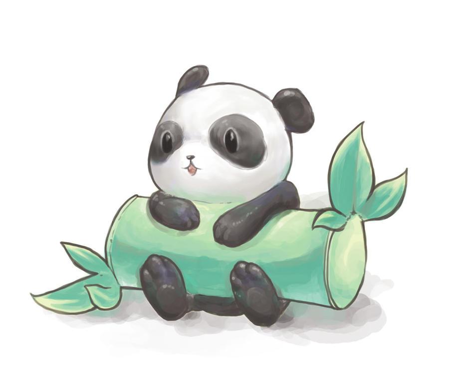 really cute panda by Saikano105 on DeviantArt