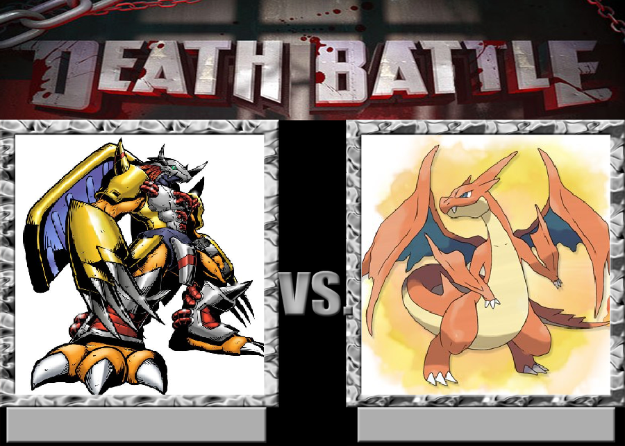 Wargreymon Vs Mega Charizard by VitamineJJC on DeviantArt