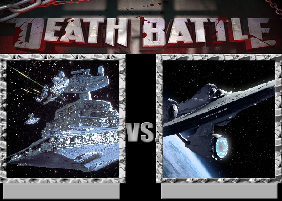 Star Destroyer Vs Enterprise by VitamineJJC on deviantART
