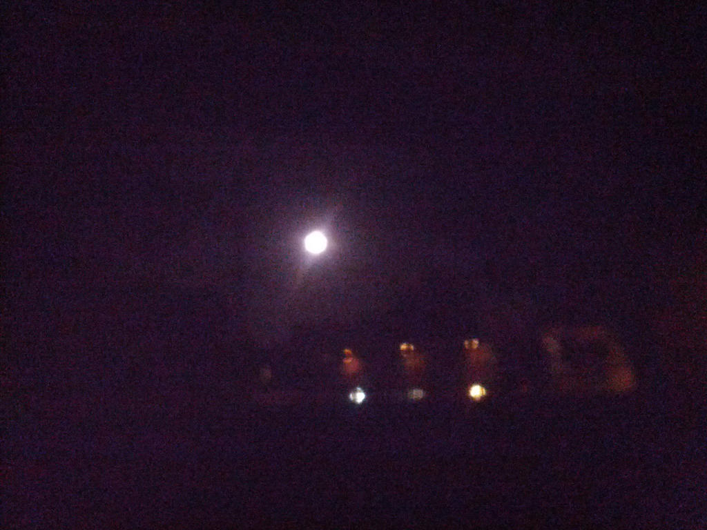 full moon tonight by neonthehedgehog123