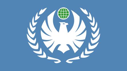 Flag of the Terran Federation V2 by bulldogcody