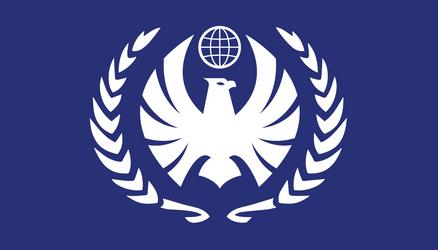 Flag of the Terran Federation V3 by bulldogcody