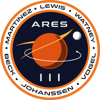 The Martian ARES III mission patch by bulldogcody
