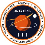 The Martian ARES III mission patch