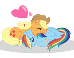 Mlp Appledash Nap (Speedpaint) Vector