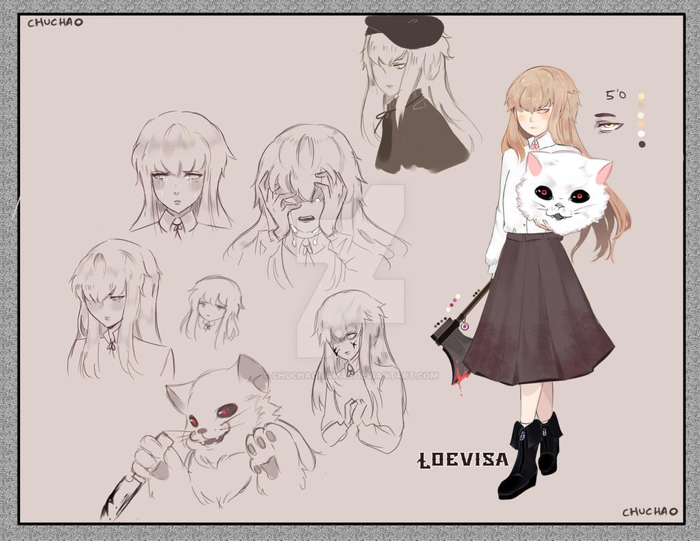 {N} Oc Loevia Gratis by Chuchaonamae