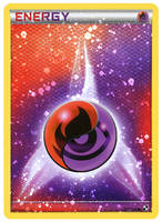 Fire Psychic Energy Card HOLO by Mr-Savath-Bunny