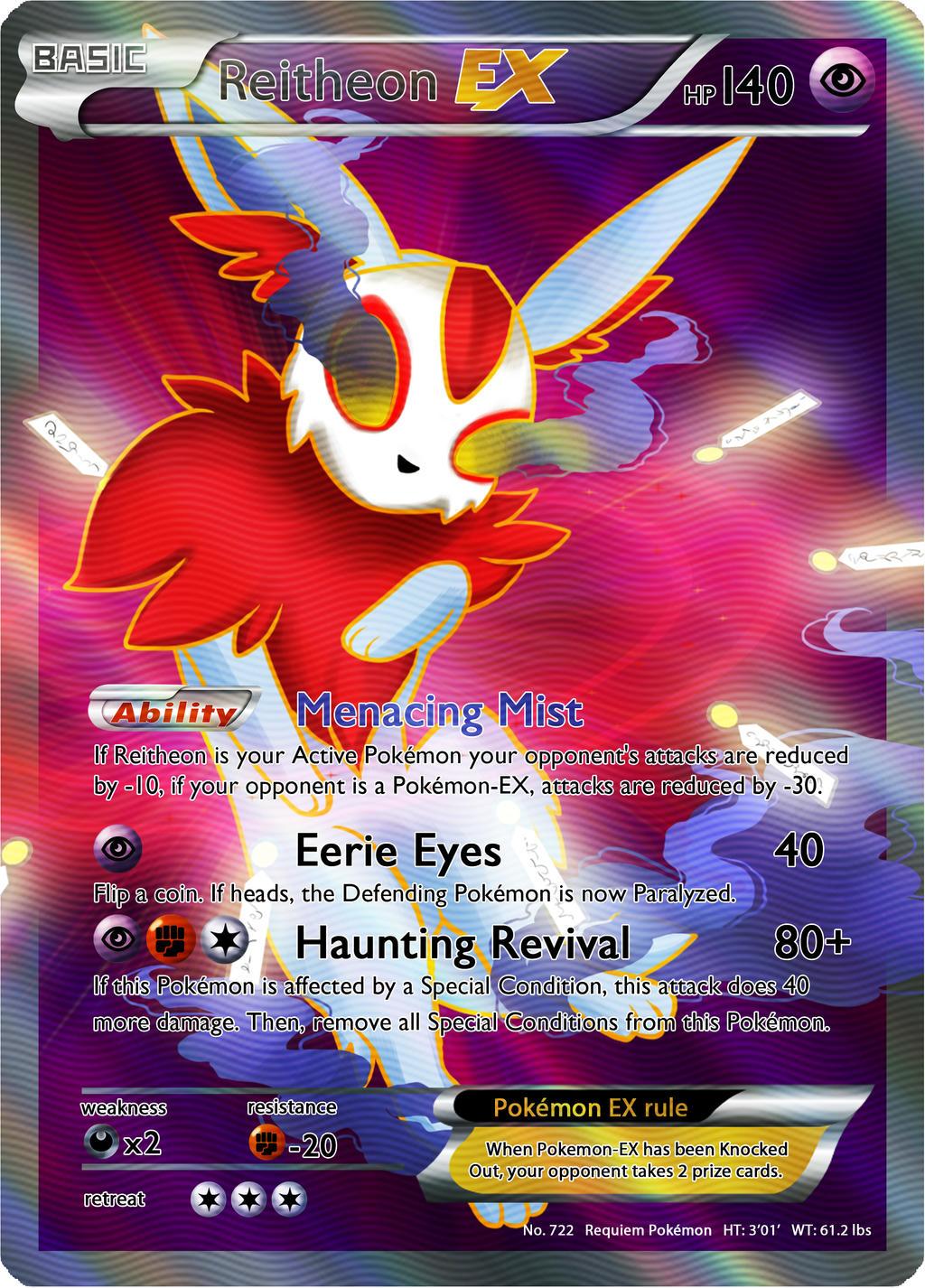 Reitheon Ex Pokemon Card 563544472