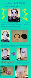anime girl make up tutorial by Sujun
