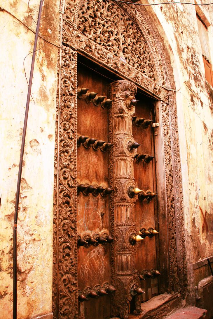 Door of Stone Town by MidnightMinx90