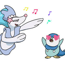 Piplup and Primarina